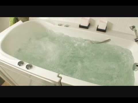 Elegant Safe Step Walk In Tub Relaxing