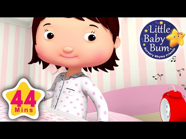Morning Routine Song   Plus Lots More Nursery Rhymes   44 Minutes Compilation from LittleBabyBum!