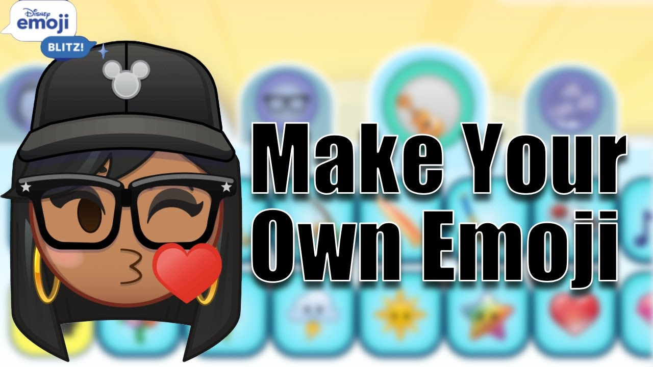 how to create your own emoji android