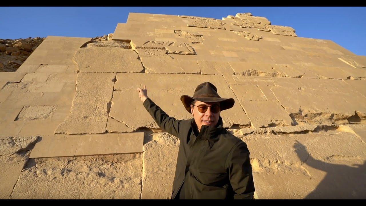 Pyramid Saqqara and the Persian Shaft
