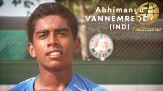 【インドの英雄】アビマニュ・バネメレディの圧巻プレー!全仏オープン・ジュニア出場権