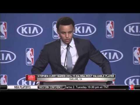 Stephen Curry 2016 MVP FULL Acceptance Speech