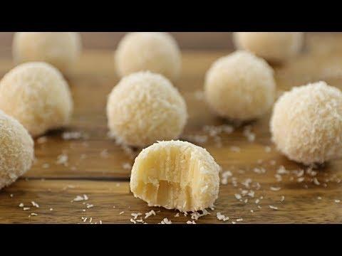 White Chocolate Truffles Recipe | How to Make White Chocolate Truffles