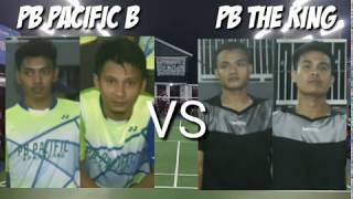 Sangaji dan alwi tarkam di Semi Open Turnamen Badminton PB PACIFIC Kp kandang VS Aceng dan Amad