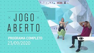 JOGO ABERTO - 23/09/2020 - PROGRAMA COMPLETO