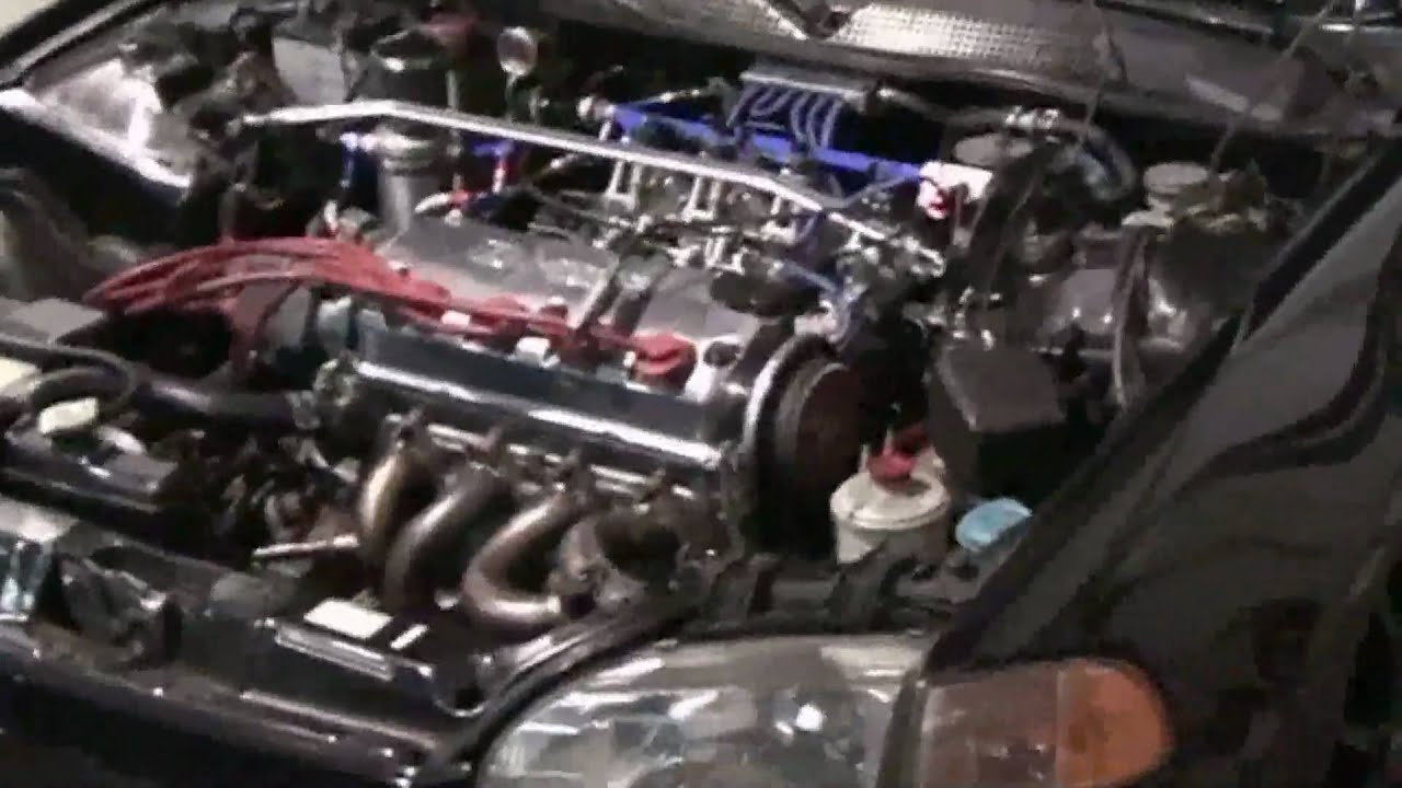 Bisimoto Level X, ITB's & more/D16Z6 all motor SOHC - PART 1