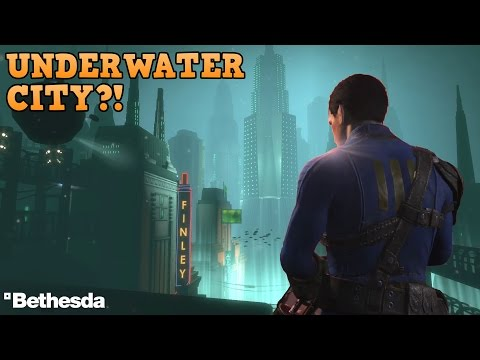 Fallout 4 FAR HARBOR DLC INSANE LEAKS! Underwater City & Power Armor?!