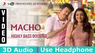 Maacho Ennacho 3D Audio | Mersal | Use Headphones | Highly Bass Boosted | Mixhound 3D Studio
