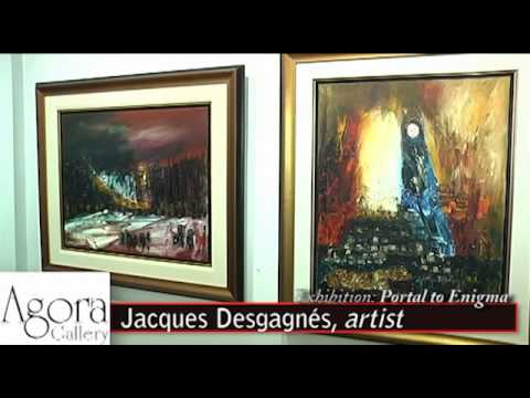 Agora Gallery, Chelsea, NYC, Art Gallery Video. Opening Reception January 19th, 2012.
