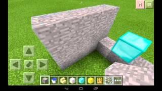 Как сделать душ в minecraft p.e
