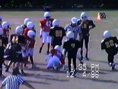 Wayne County Rec league Allstars Vs Hinesville GA 1996 Jesup GA