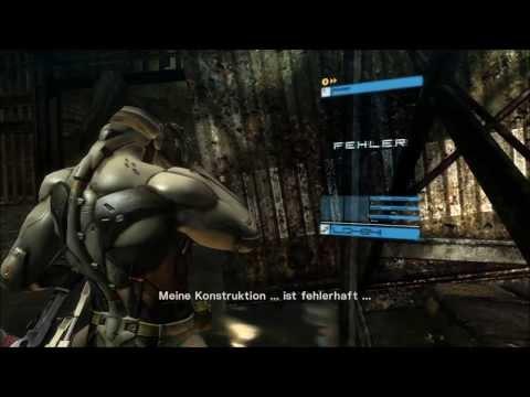 Metal Gear Rising: Revengeance - Jetstream Sam vs Blade Wolf - REVENGEANCE / S-RANK / NO DAMAGE