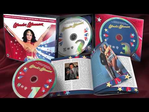 COMPARED: La-La Land Records' Wonder Woman TV Soundtrack