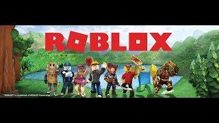 Primeira gameplay de ROBLOX!