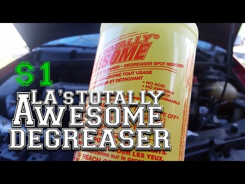 LA's AWESOME Engine Degreaser. BEST Cleaner for $1!