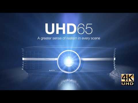 Optoma 4K Ultra HD projector - UHD65