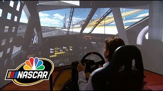 Simulating What It'S Like To Race The Charlotte Roval I Nascar I Nbc Sports