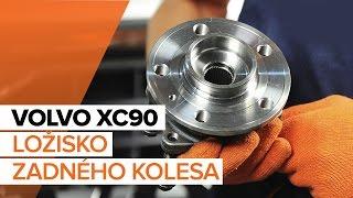 Ako vymeniť Lozisko kolesa na VOLVO XC90 I - video sprievodca