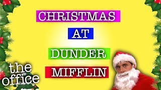 Christmas at Dunder Mifflin  - The Office US