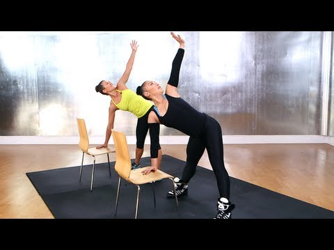 Madonna's Chair Workout, Do-Anywhere Workout, FIt How To