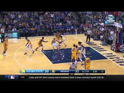 Klay Thompson Explodes For 29 In 1st Half Vs Pacers