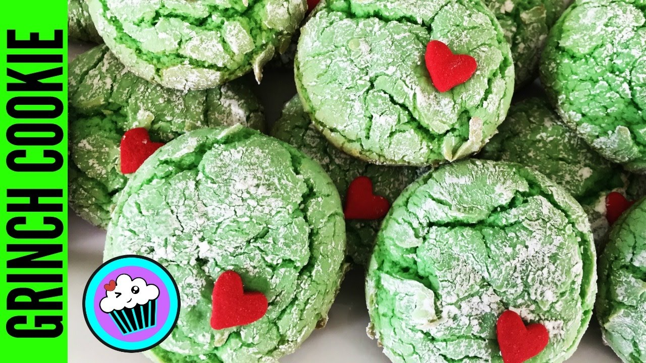 How To Make Grinch Cookies 25daysofcookies