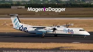 Экипажем на Bombardier Dash 8   Дюссельдорф - Милан   EDDL - LIMC   Vatsim Event