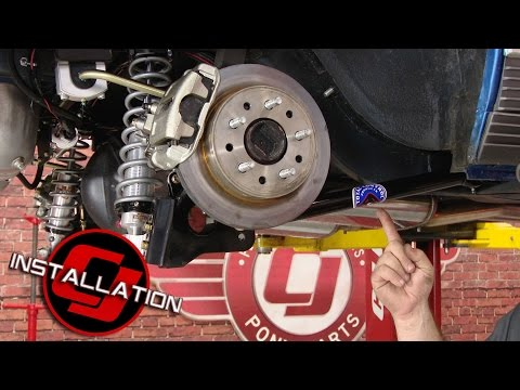 Mustang Total Control Products Coilover Rear Suspension G-Link 1967-1970 Installation