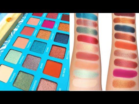 Rude Cosmetics Bikini Bottom - 18 Eyeshadow Palette 18 ||sabana Nasrin