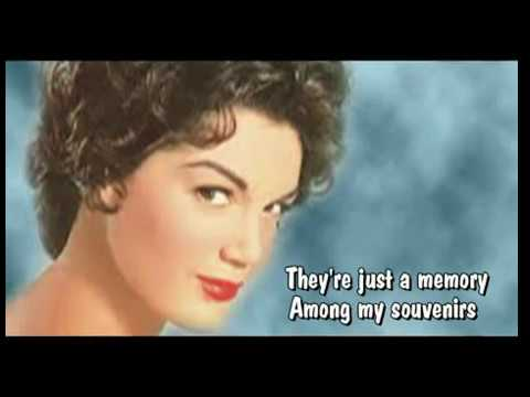Among My Souvenirs-Connie Francis-Audio HQ-With Lyrics