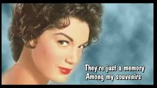 Gambar cover Among My Souvenirs-Connie Francis-Audio HQ-With Lyrics
