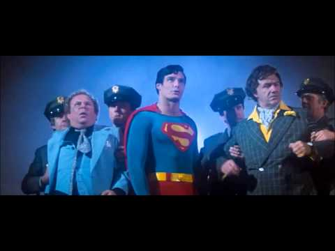 Superman: The Movie ending scenes