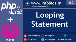 PHP - Looping Statements - Tutorial 4