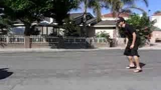 ME JUMPING OVER A ESCALADE!!!