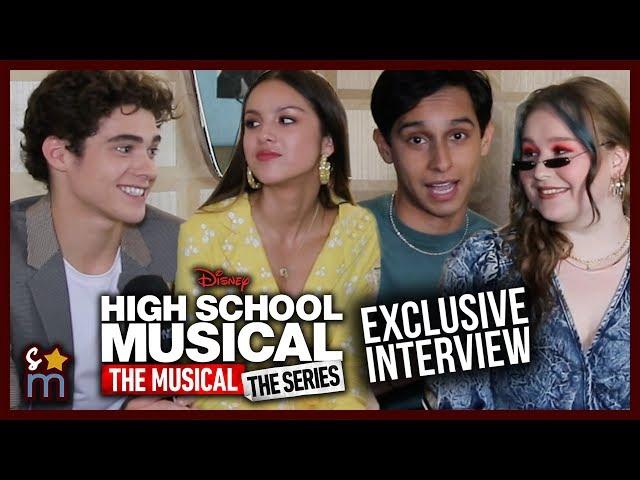 High School Musical Series Cast Talk Season 1 Easter Eggs & Original Songs
