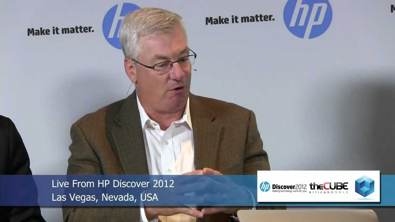 Randy Meyer and Ric Lewis (NonStop) - HP Discover 2012 - theCUBE ...