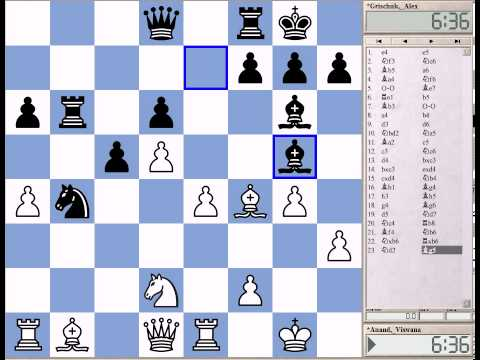 Great Games of Anand and Carlsen Part 11: Anand-Grischuk, Mexico City 2007