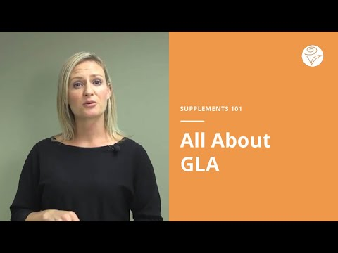 Supplements 101: GLA