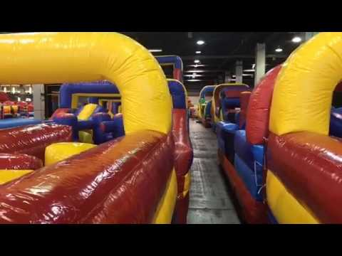 Midwest Activity Productions Family Fun Zone at Rosemont  IL 2017