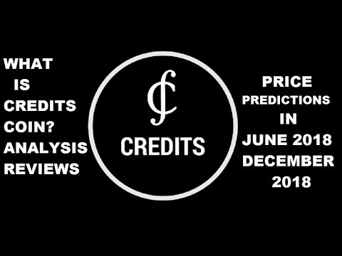 Credits cryptocurrency price prediction