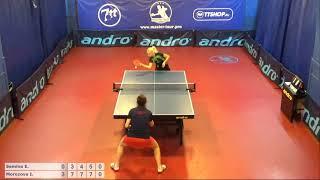 Настольный теннис матч 151218 15 Семина Ева Морозо...