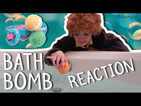 Moot Reacts To A Bath Bomb