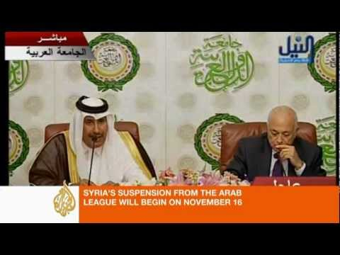 Arab League threatens Syria with suspension