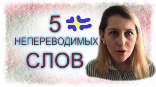 ШВЕДСКИЙ ЯЗЫК: 5 непереводимых на русский слов