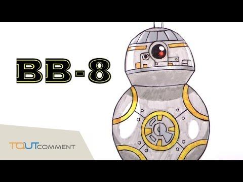 Dessin Star Wars 7 Bb 8