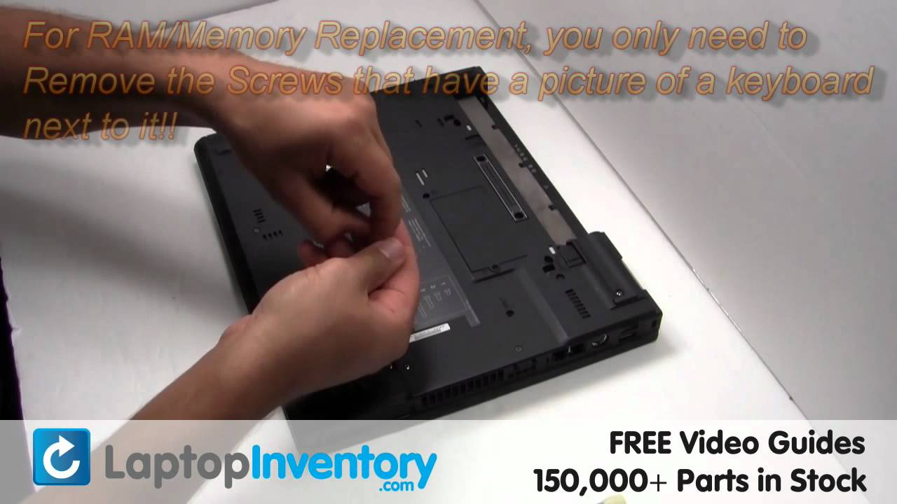 ibm lenovo ram memory replacement guide installation upgrade t40 rh youtube com IBM ThinkPad T43 Manual IBM T43 Battery