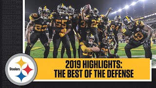 HIGHLIGHTS: Steelers defense LEAD THE NFL IN TAKEAWAYS in 2019 | Best plays from the defense