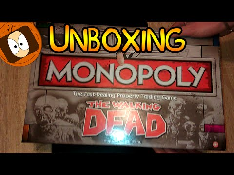 UNBOXING : THE WALKING DEAD MONOPOLY SURVIVAL EDITION !