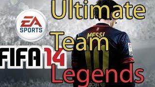 Fifa 14 Ultimate Team Legends [Gameplay] - Gamescom 2013 | FullHD