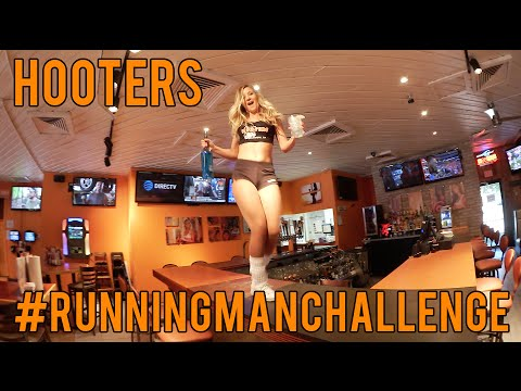 The Hooters Running Man Challenge! from YouTube · Duration:  1 minutes 7 seconds